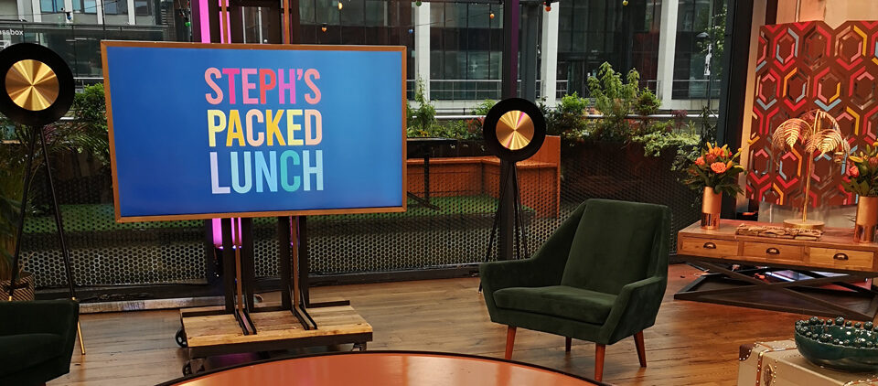 Channel 4 – Steph's Packed Lunch – TV appearance (May 2021)